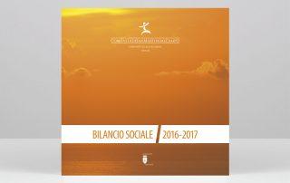 Studio Goina, grafica, fotografia, formazione. Realizzazione delle grafiche del Bilancio 2016-2017 della Comunità di San Martino al Campo.