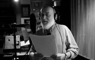 """Trieste, 13 settembre 2017. Registrazioni del CD """"Al di qua del Mondo"""", di Don Mario Vatta e con musiche di Marco Castelli, presso l'Urban Recording Studio di Casa della Musica."""