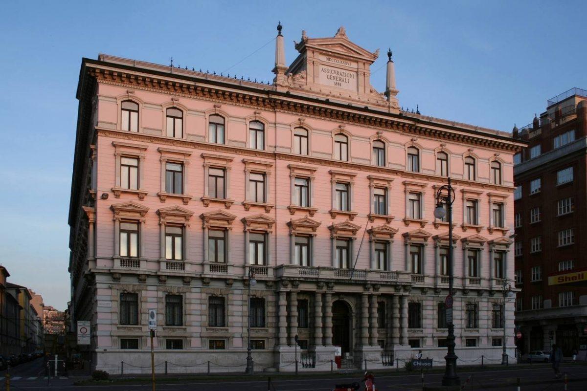 Trieste, palazzo Geiringer, sede delle Assicurazioni Generali. Foto di Massimo Goina. STUDIOGOINA.IT
