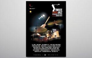 Studio Goina, grafica, fotografia, formazione, Trieste. TriesteLovesJazz 2012. Grafica e foto di Massimo Goina