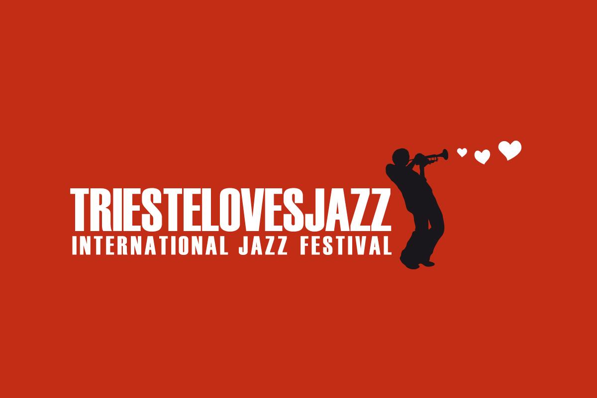 """Studio Goina, grafica, fotografia, formazione. Ideazione e realizzazione del logo del """"TriesteLovesJazz international festival"""". Design di Massimo Goina, 2009"""